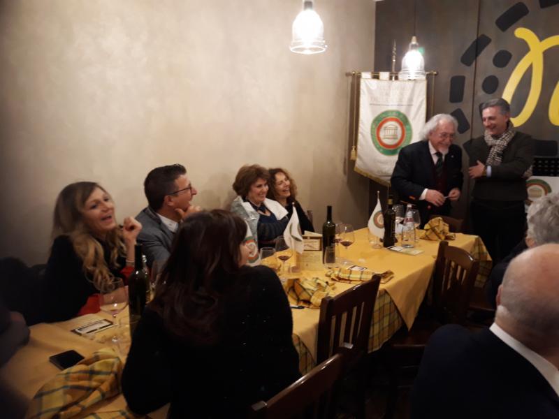 """La storia del Fucino nella """" Conviviale del Ricordo """" della Delegazione di Avezzano e della Marsica dell'Accademia Italiana della Cucina"""