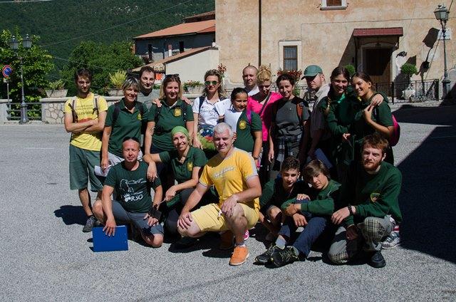 Parco Abruzzo, terminano attività di volontariato per il 2017