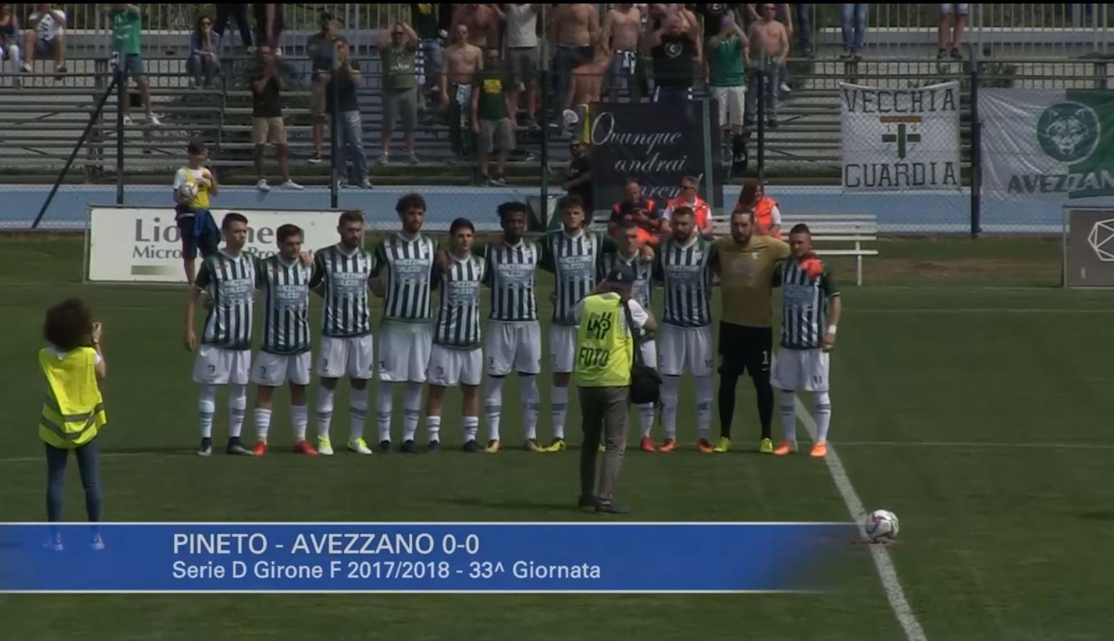L'Avezzano Calcio blinda il terzo posto e centrare l'obiettivo stagionale