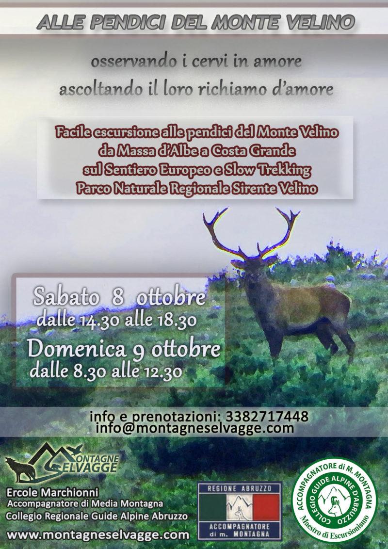 Alle pendici del Monte Velino: facile escursione e osservazione cervi