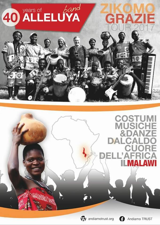 """Magliano de' Marsi, il gruppo """"Alleluya Band"""" in concerto"""