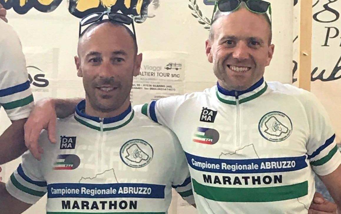 Avezzano Cycling Team, due titoli regionali nel Marathon degli Stazzi con Tucceri Cimini e Bossi