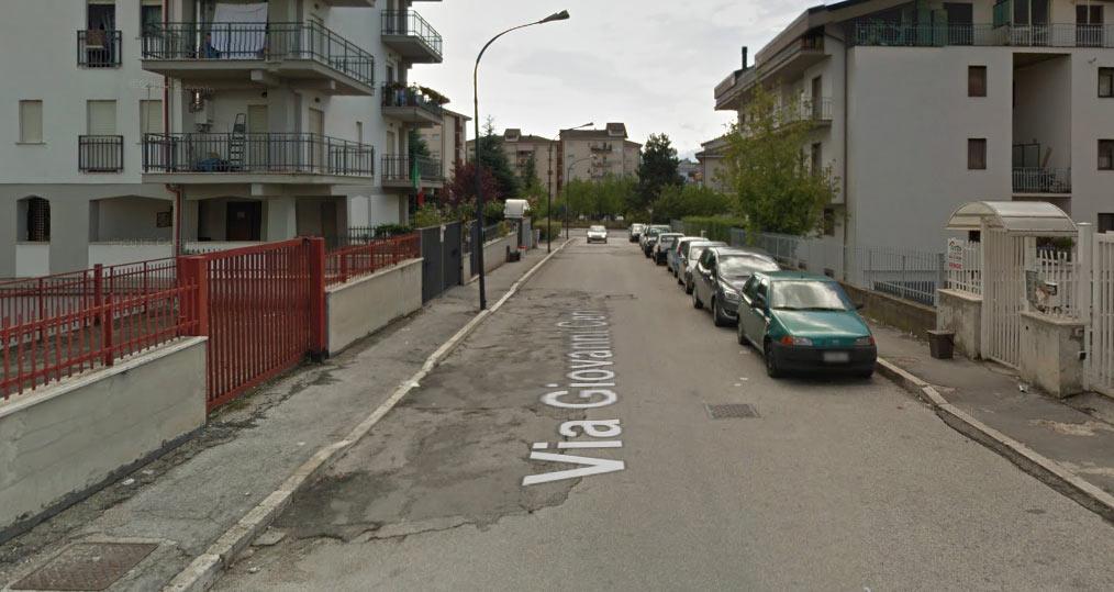 Disagi per gli abitanti di Via Cerri ad Avezzano