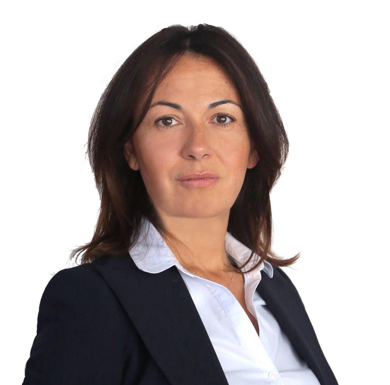 Valentina Benelli con il candidato sindaco Di Pangrazio