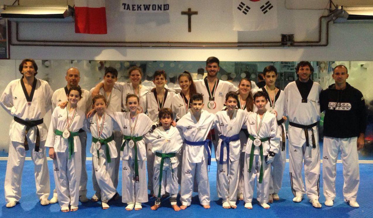 Il Centro Taekwondo Celano porta a casa ben 12 medaglie