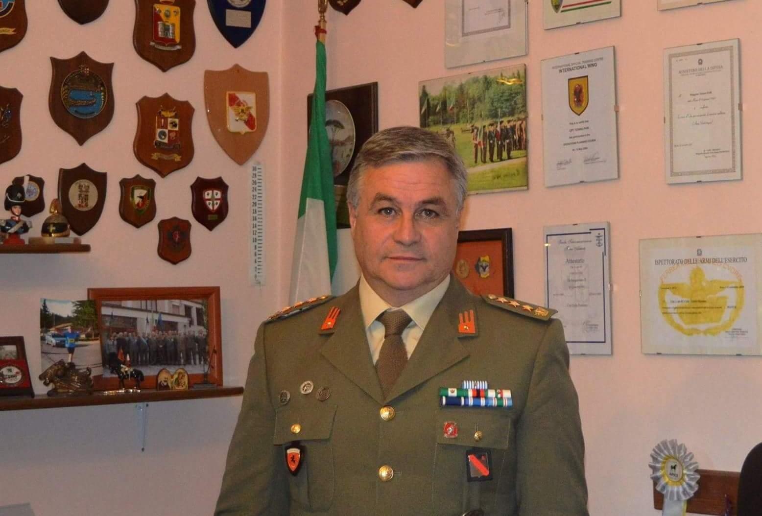 Cambio al comando della base logistico addestrativa di Roccaraso