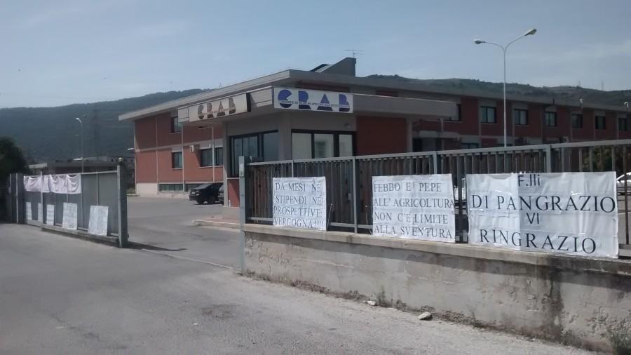 """Crab, dipendenti senza stipendi da 14 mesi, la Cgil: """"I soldi sono stati stanziati ma non arrivano e i politici stanno a guardare"""""""