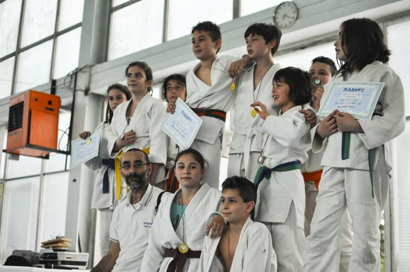 Criterium Judo: pioggia di medaglie per i baby del PalaWinnerTeam di Avezzano