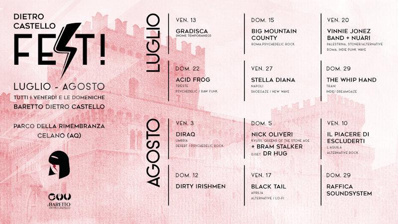 Torna la stagione concertistica targata Baretto Dietro Castello
