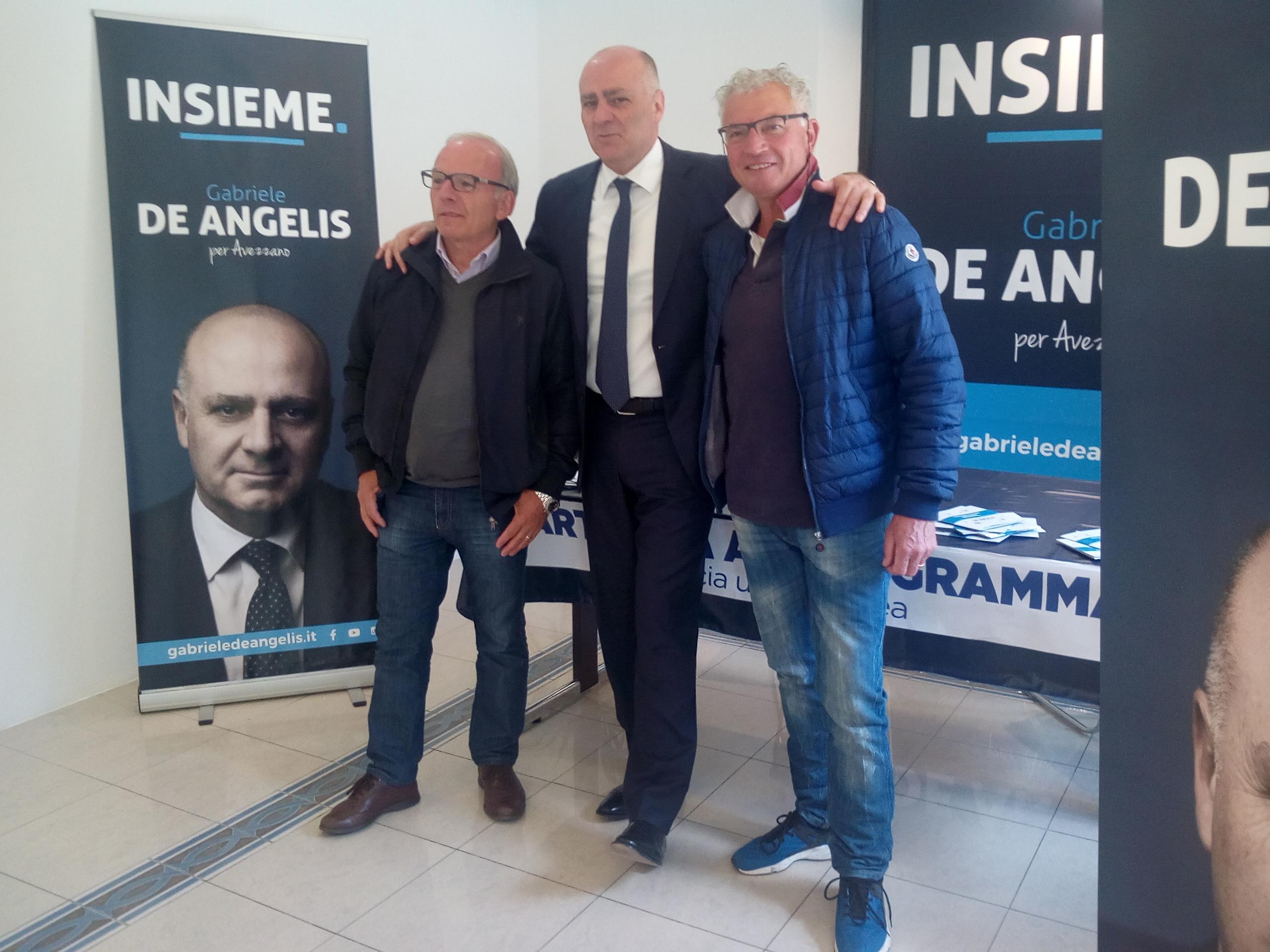 Avezzano, Gino Di Cicco e Innocenzo Ranieri nella lista di De Angelis