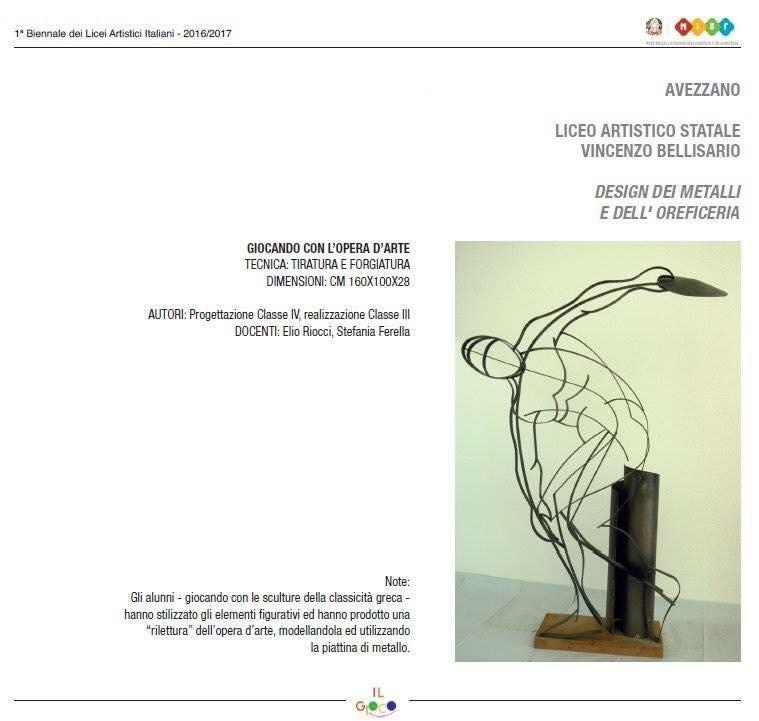 """""""Il gioco di parole"""" degli studenti del Bellisario vince su 500 opere e va in esposizione al Miur"""