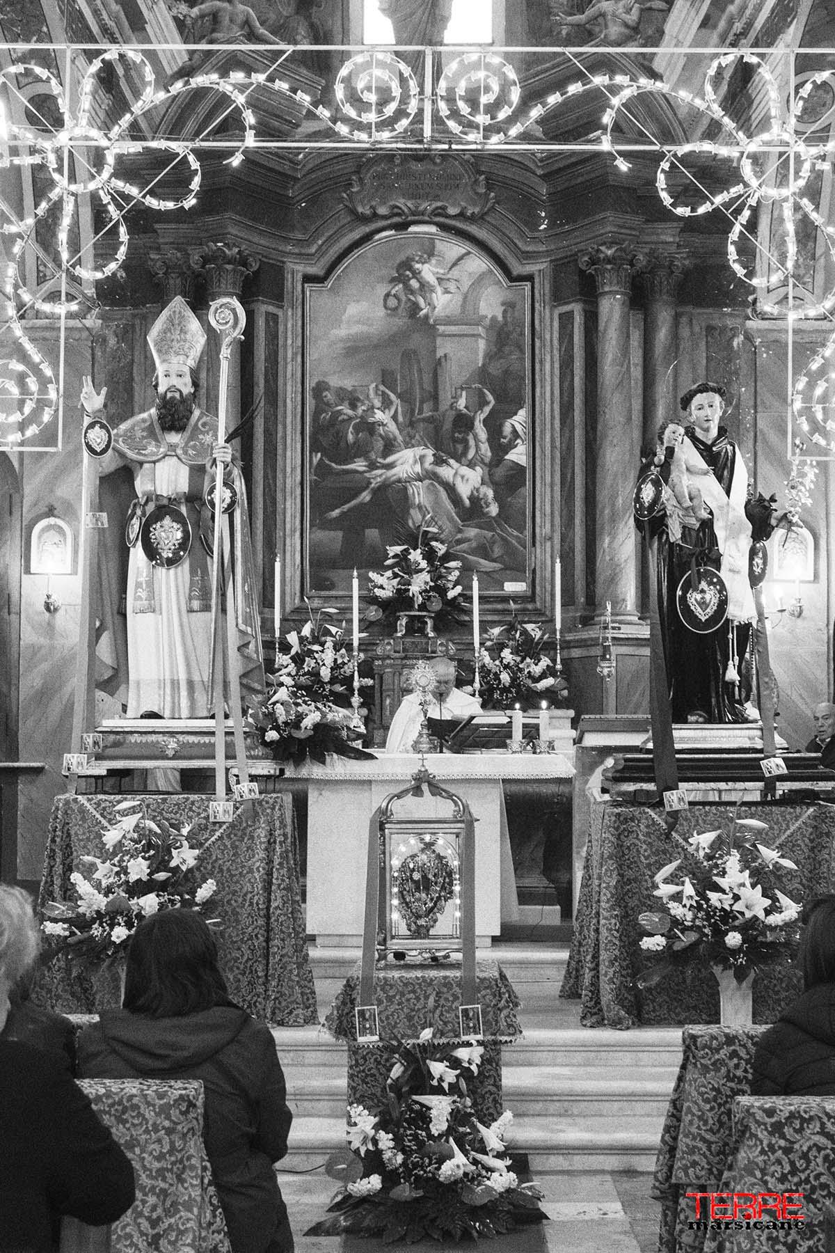 Inizio festeggiamenti Sant' Erasmo e Sant'Antonio