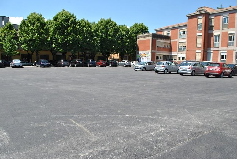 Avezzano, riqualificato il parcheggio ex Asl