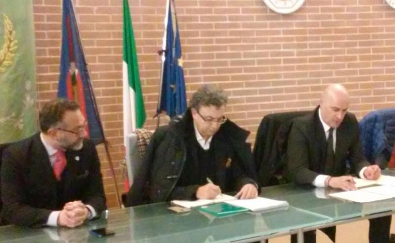 """Berardinetti: """"I contratti di Fiume strumento di rilancio socio economico del territorio della Marsica""""."""