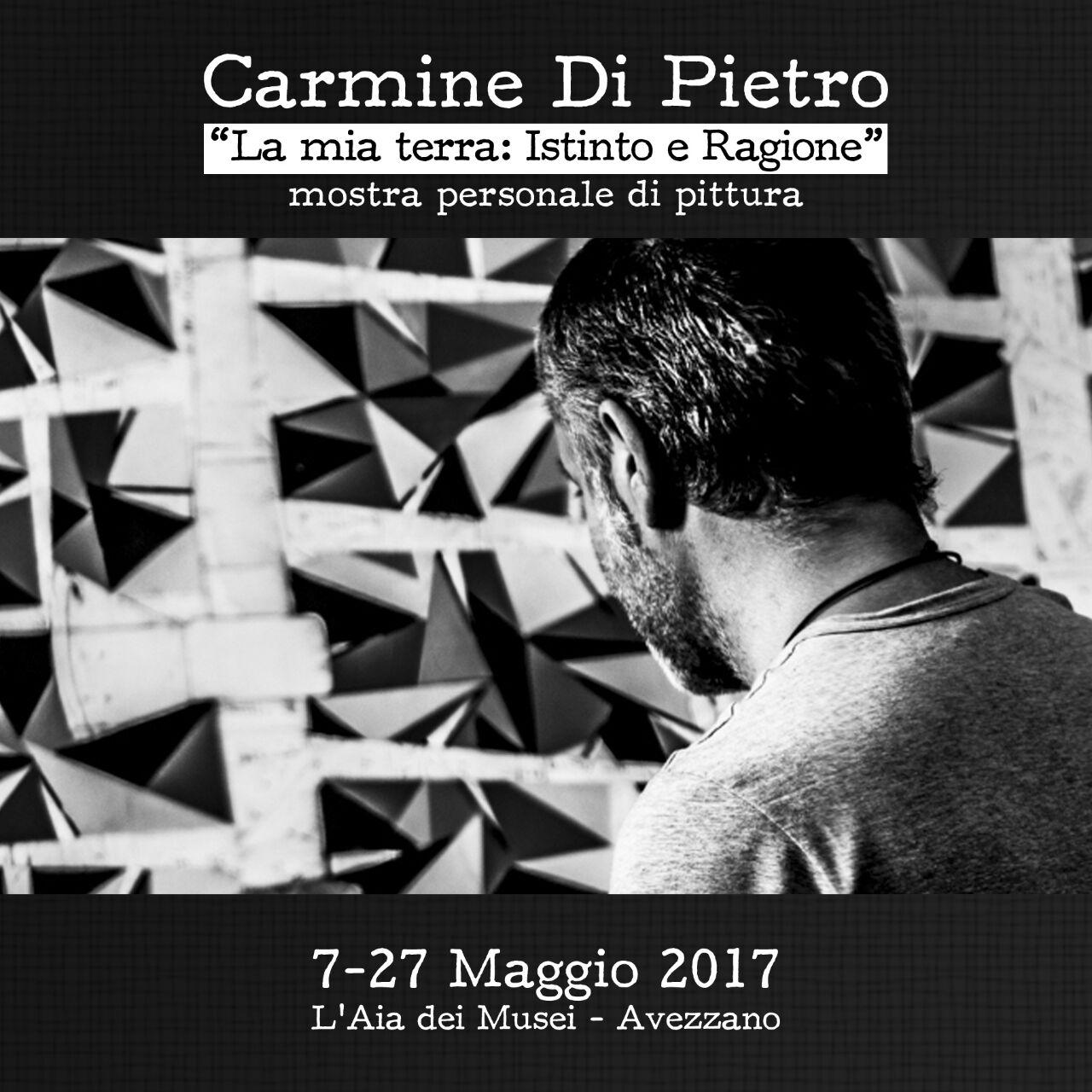 Avezzano, mostra di pittura dell'artista Carmine Di Pietro