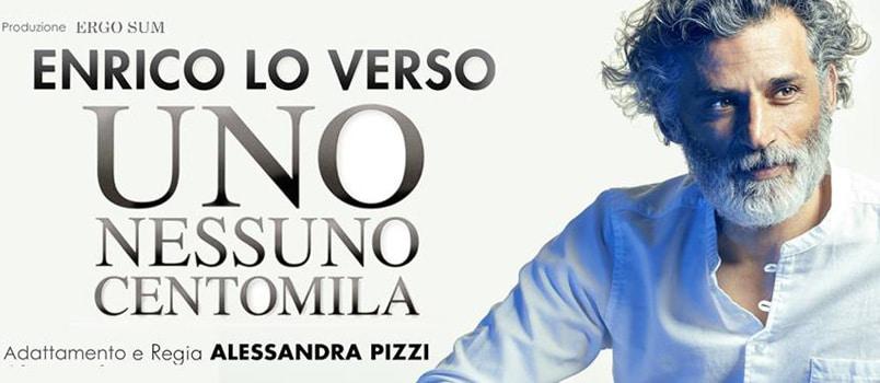 Enrico Lo Verso con un classico di Pirandello, sabato al Talìa