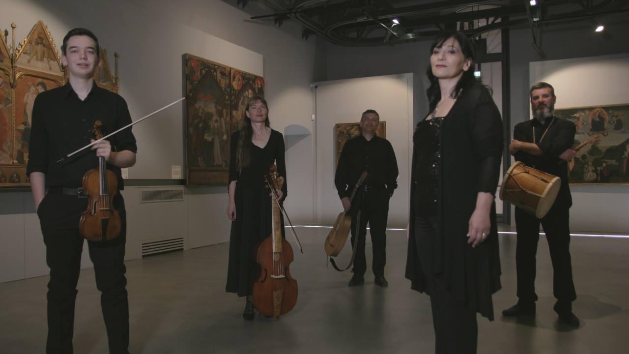 Musica antica con l'Ensemble Aquila Altera a Rocca di Mezzo