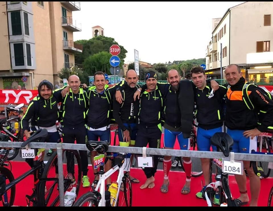 Gara di Triathlon Elbaman, tutti i marsicani concludono la competizione con ottimi parziali individuali