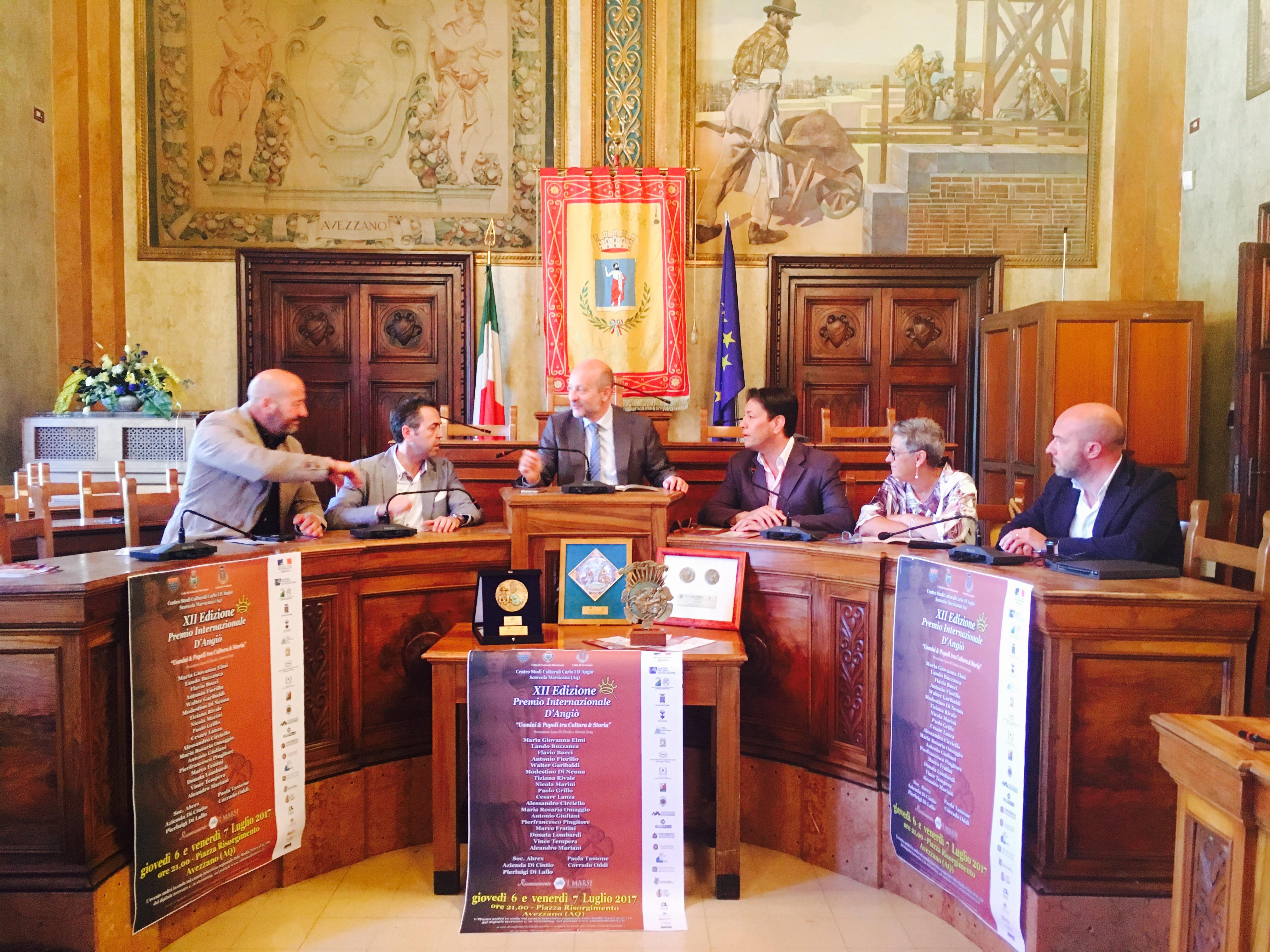 """Si terrà ad Avezzano la dodicesima edizione del """"Premio D'Angiò"""""""