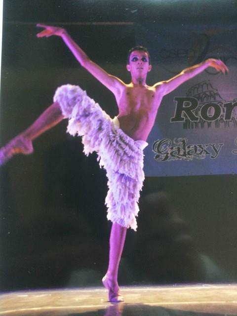 Il ballerino classico Gianvito Gomes Franchi al Royal Ballet School e al Teatro dell'Opera di Roma