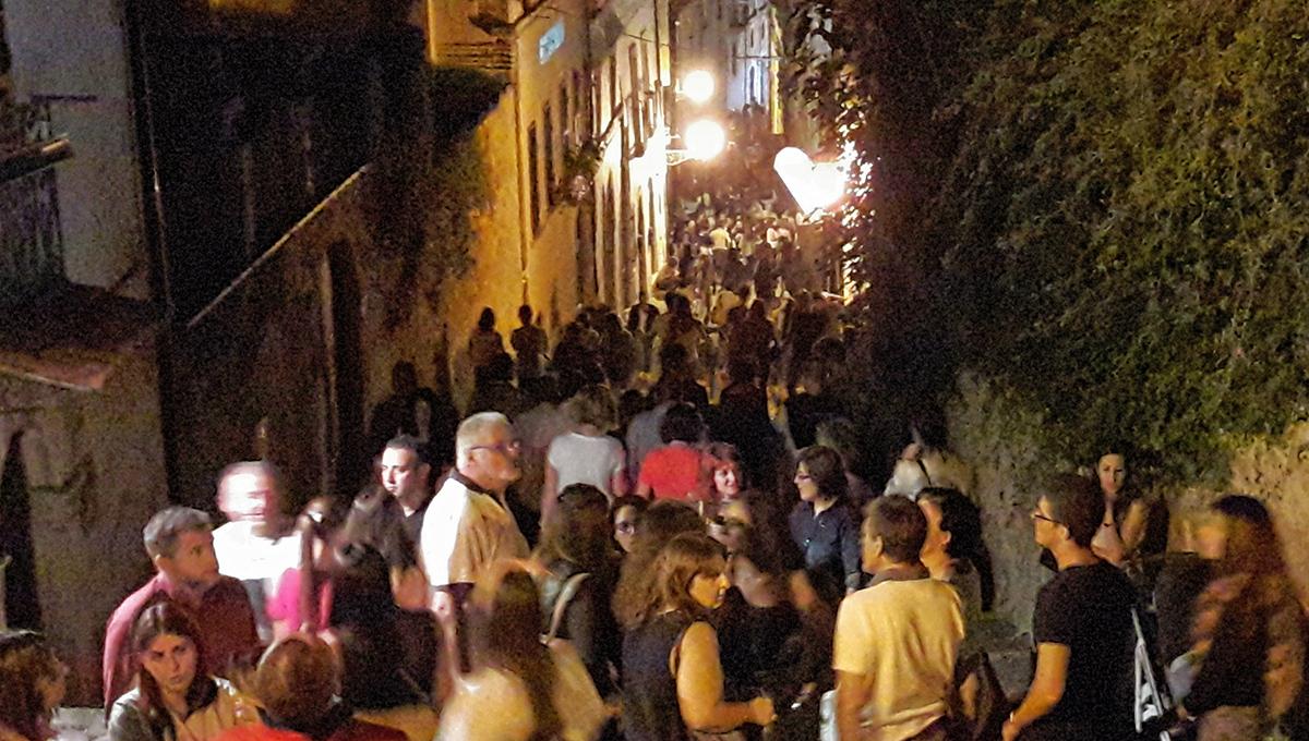 Gironi di vini celebra l'anno del cibo con una cittadella del gusto nel centro storico di Tagliacozzo