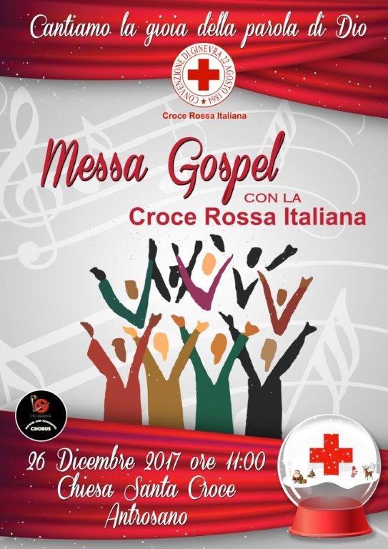Messa Gospel con la CRI