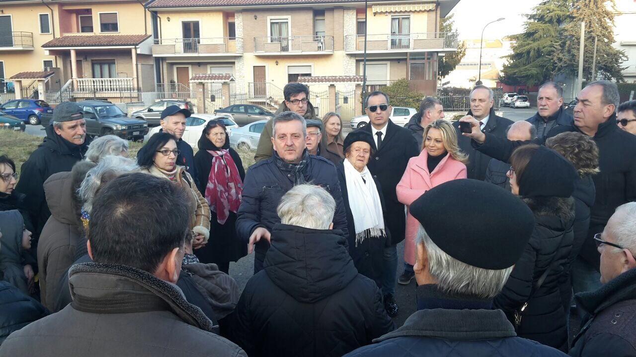 Il comitato di residenti di Chiusa Resta scrive al sindaco Di Pangrazio per aver mantenuto gli impegni presi