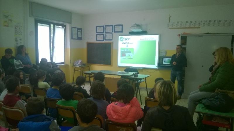Al via le giornate di educazione ambientale nelle scuole
