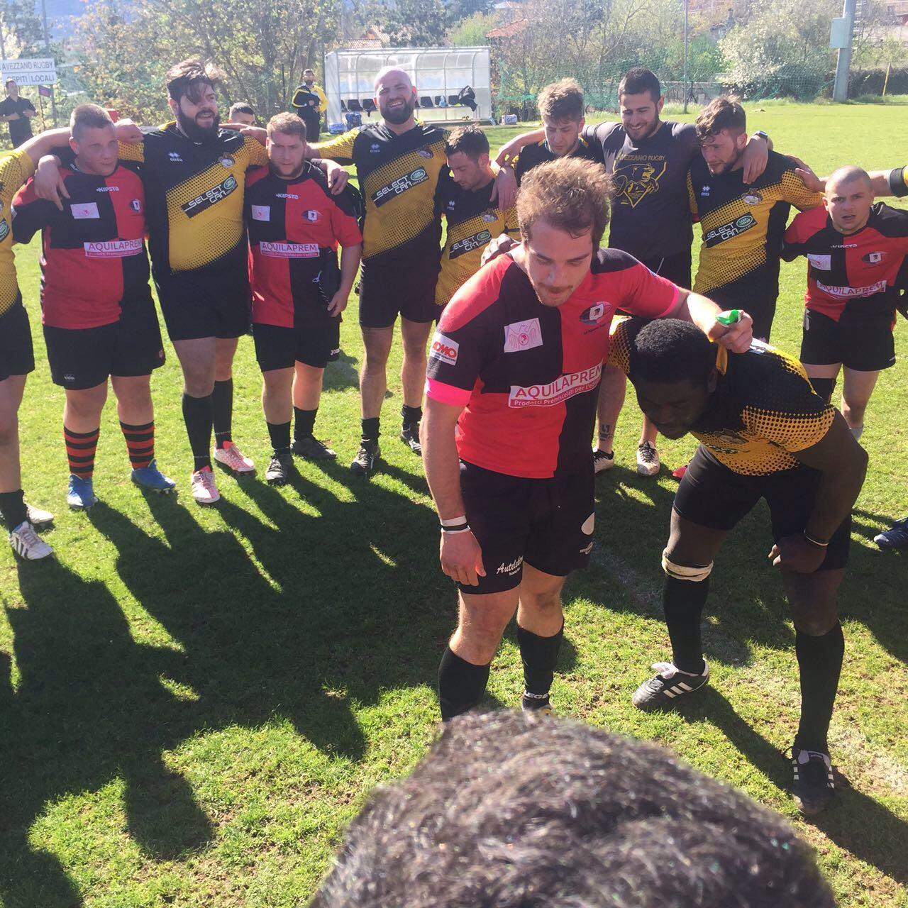Vittoria schiacciante per l'Avezzano Rugby contro il Paganica