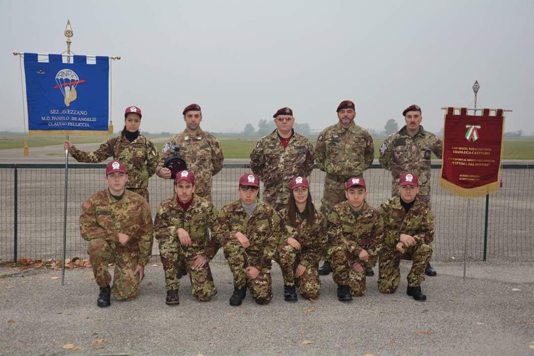Sei allievi paracadutisti della sezione A.N.P.d'I. di Avezzano hanno conseguito il brevetto di abilitazione al lancio con paracadute