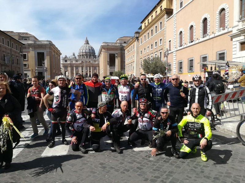 """""""Alla conquista di Roma"""" con la Vallelonga Bike"""
