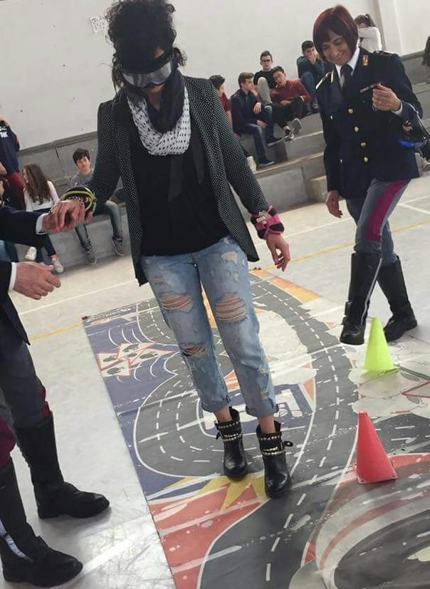 """La Polstrada di Avezzano partecipa alla manifestazione organizzata dall'Associazione """"In strada per la vita con Marco nel cuore"""""""