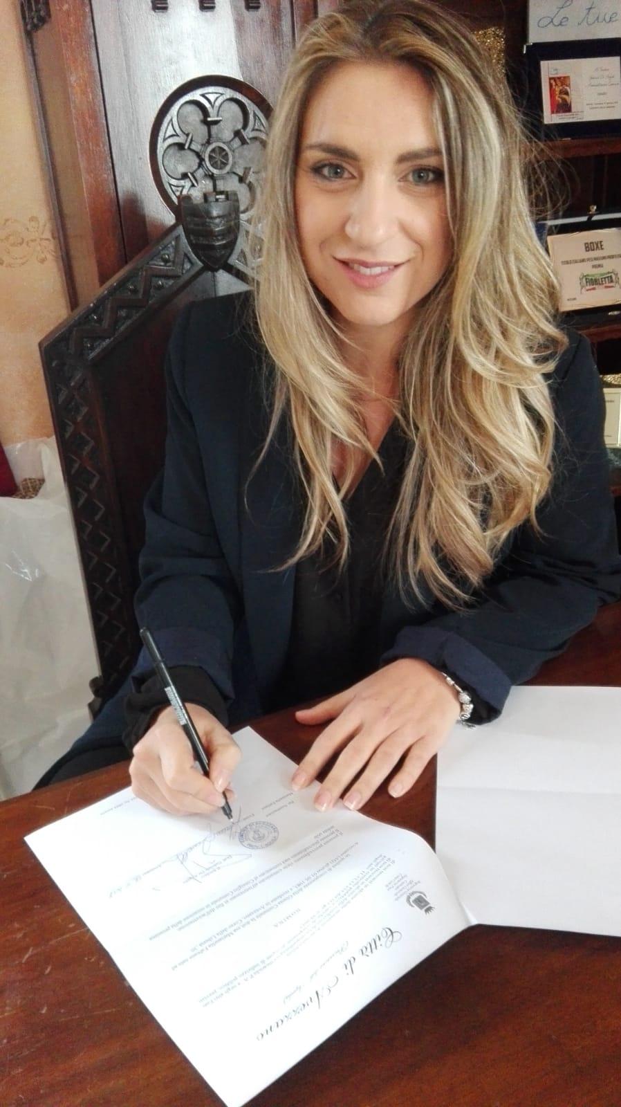 De Angelis ha nominato Fabiana Marianella assessore al Bilancio