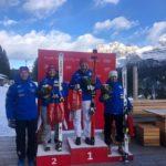 Giulia Di Francesco abruzzese corre in coppa Europa di sci Alpino