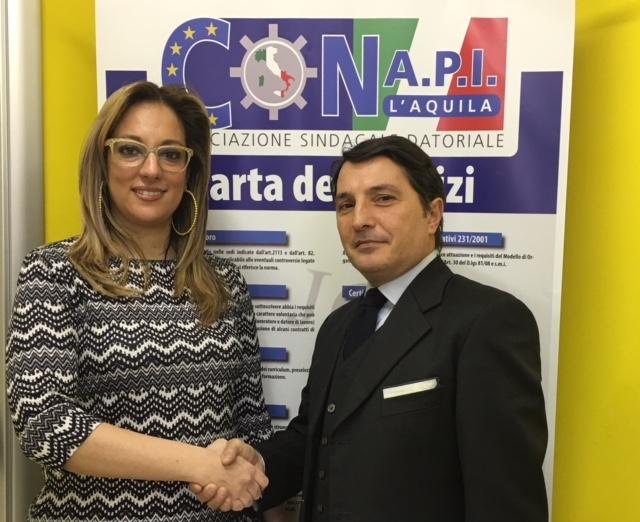 Il Conapi L'Aquila si riunisce in assemblea straordinaria: nel consiglio direttivo entra l'avvocato Onnembo