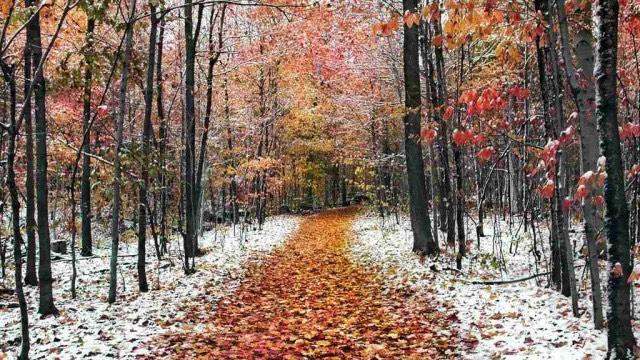 Marsica, in arrivo piogge e prime spruzzate di neve in montagna...