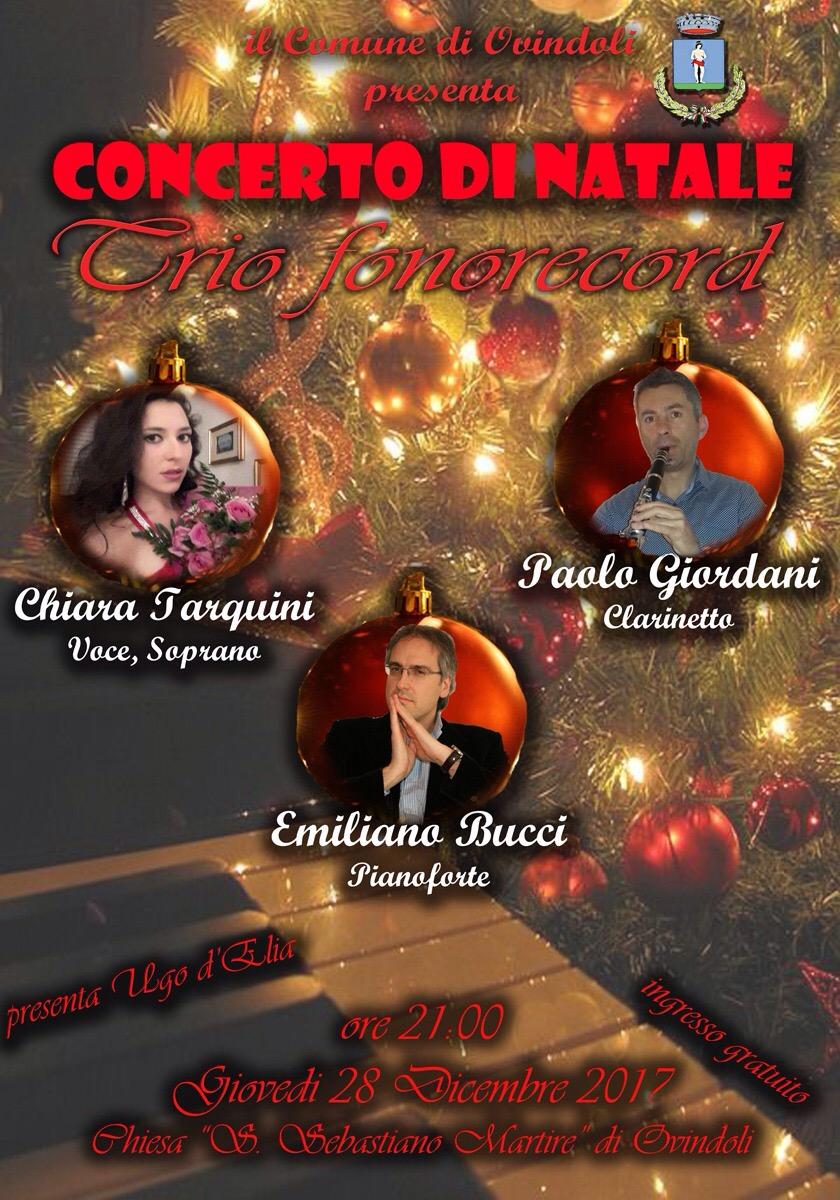 A Ovindoli il concerto del nuovo Trio Fonorecord