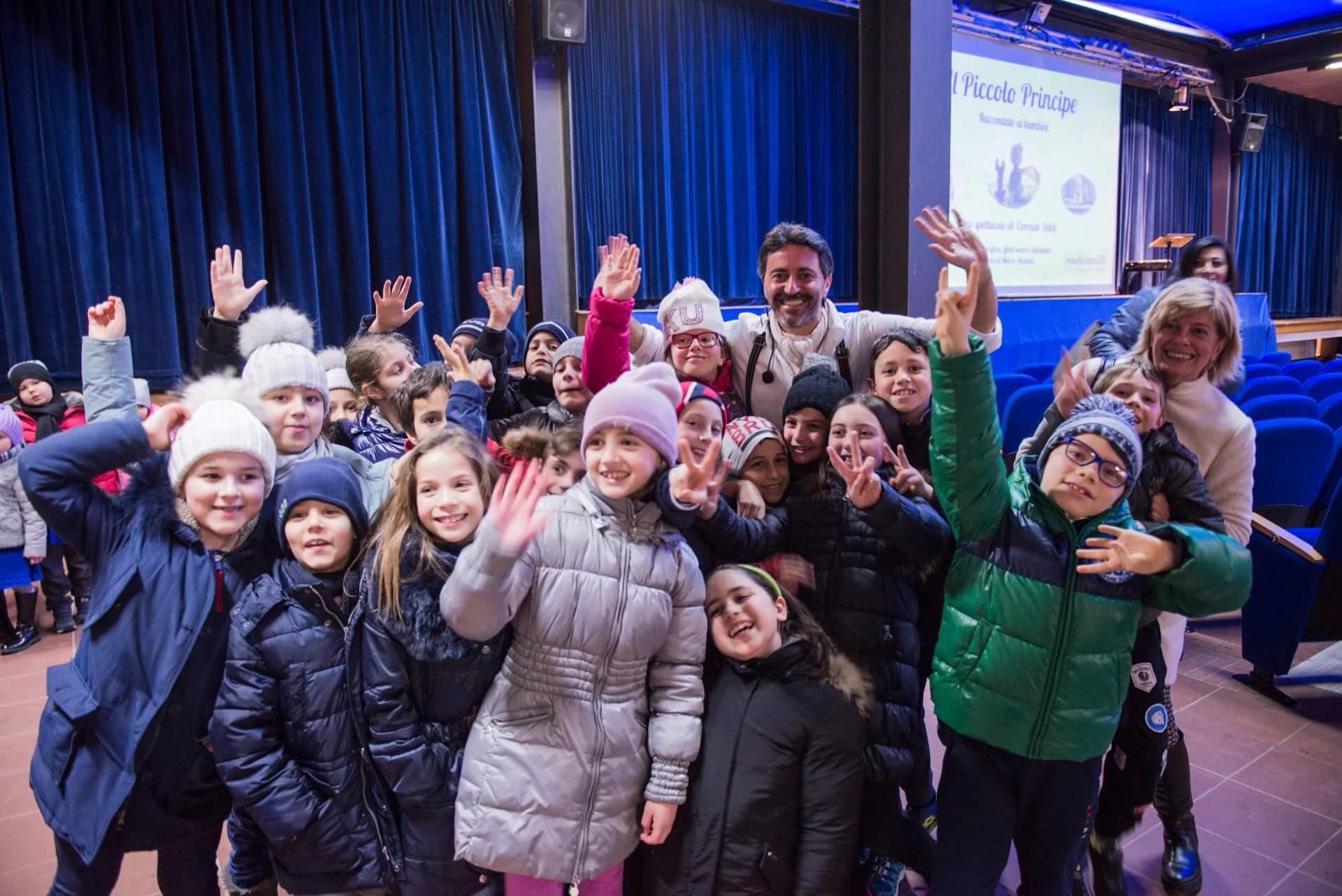 Il piccolo Principe di Corrado Oddi incanta i bambini delle scuola primaria