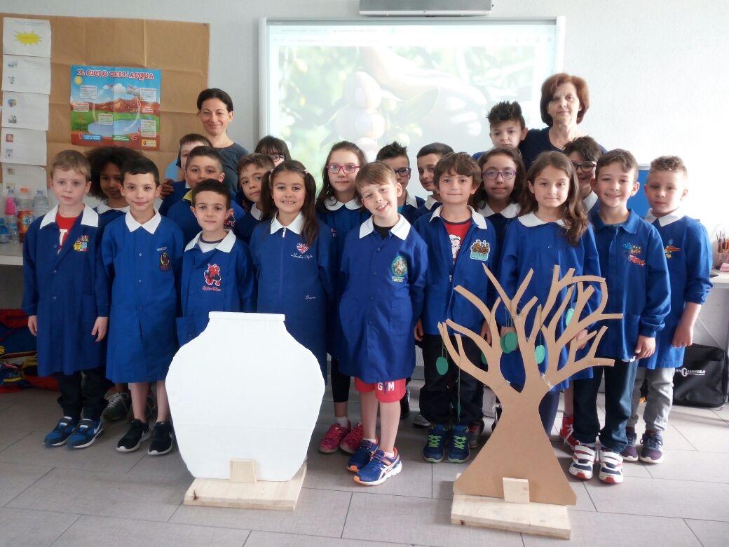 Gli alunni della 2B della scuola primaria Don bosco premiati per un progetto sull'olio extravergine di oliva