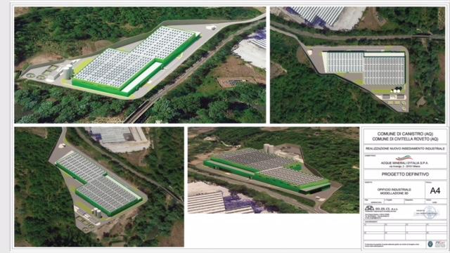 Canistro: la Norda presenta il progetto definitivo per il nuovo stabilimento