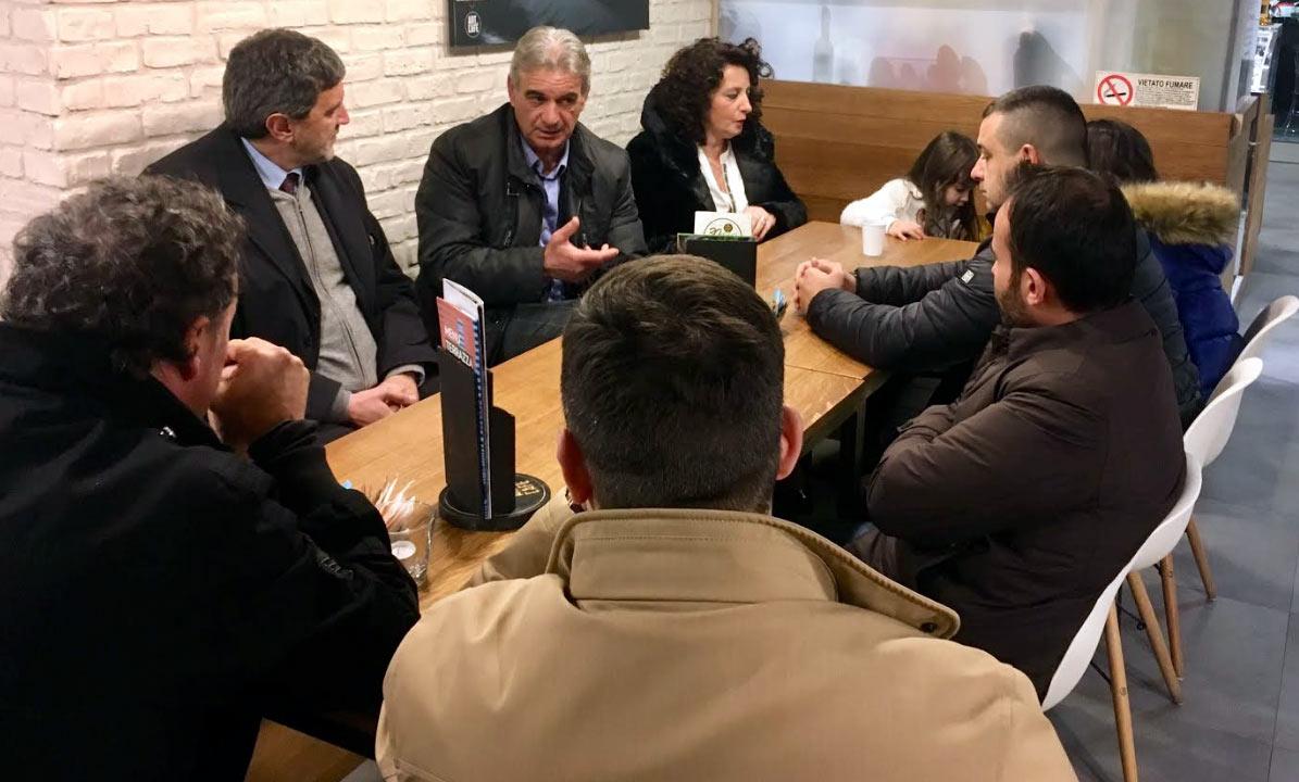 Il Senatore Marsilio e il Dott. Foschi a Luco dei Marsi per parlare di sicurezza e immigrazione