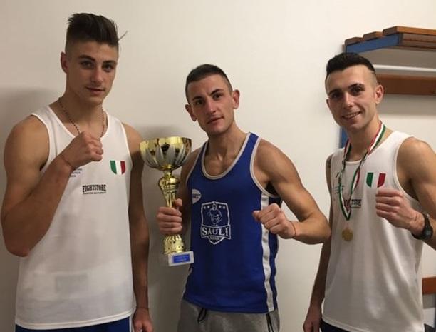 Campionati Italiani Elite: 2 ori ed un argento per l'A.S.D. Sauli Boxe
