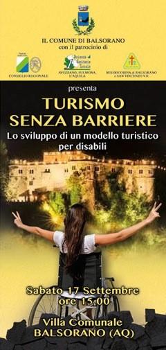 """""""Turismo senza barriere"""", convegno al Castello Piccolomini"""