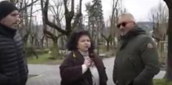 Piazza Torlonia massacrata da quarant'anni   VIDEO