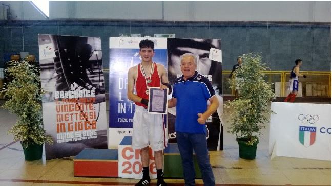 Boxe: medaglia d'oro per Antonio Scatena ai Campionati Italiani Universitari