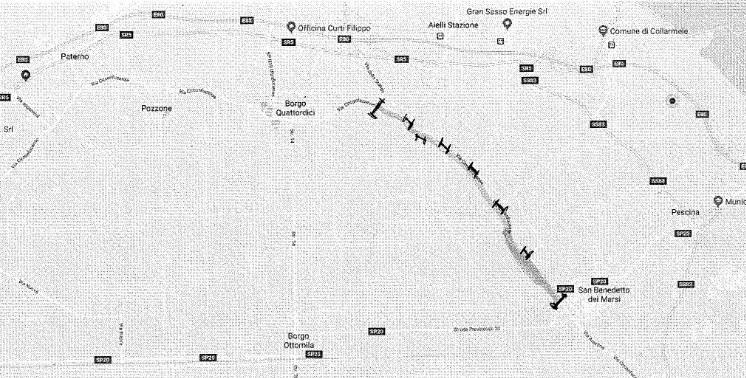 Voragini sul manto stradale: chiuso un tratto della Circonfucense