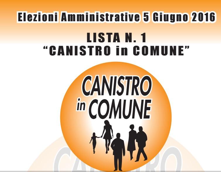 Presentazione della lista 'Canistro in Comune'