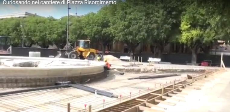 Curiosando nel cantiere di Piazza Risorgimento