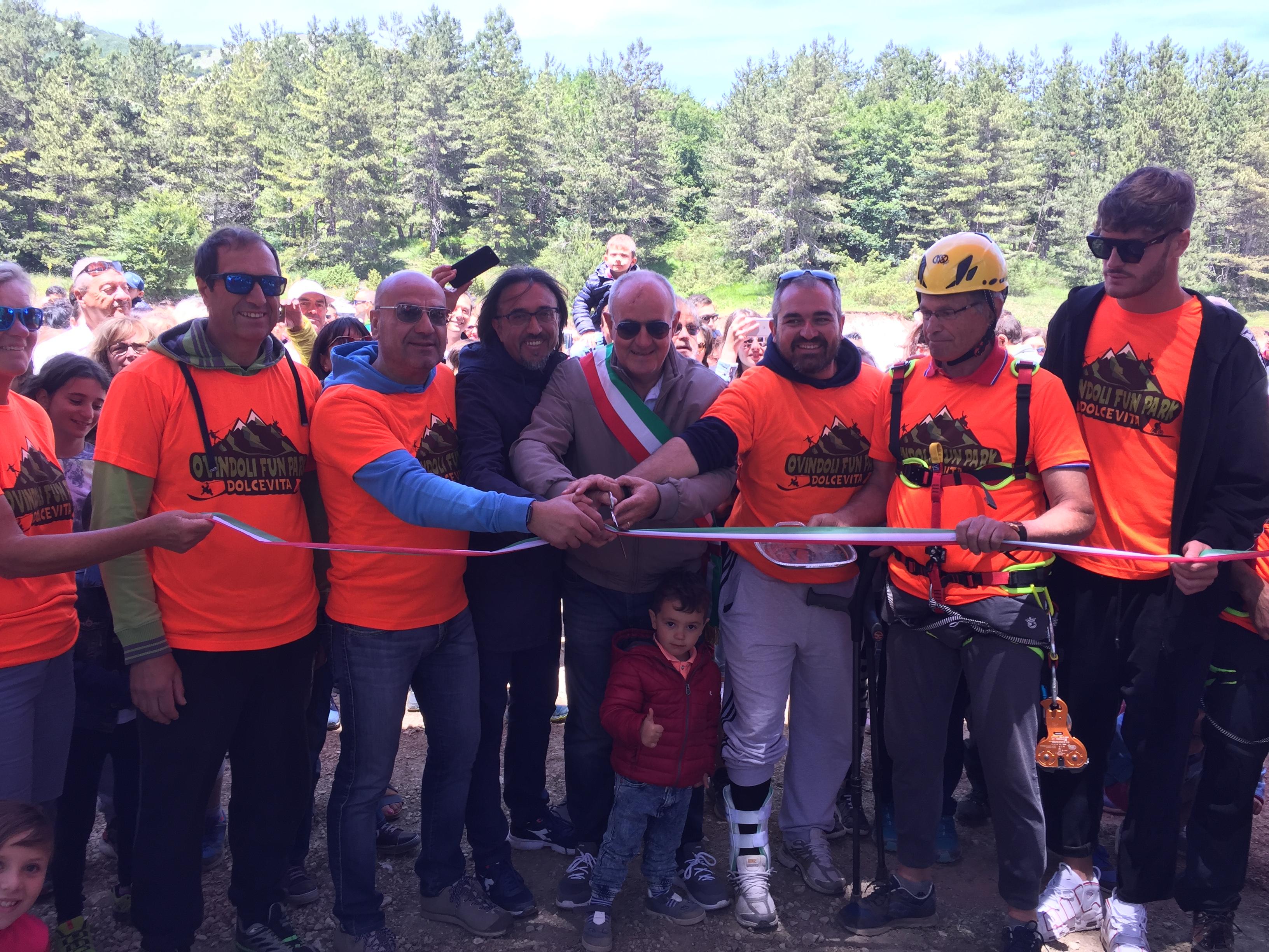 Inaugurato il nuovo parco divertimenti Ovindoli Fun Park