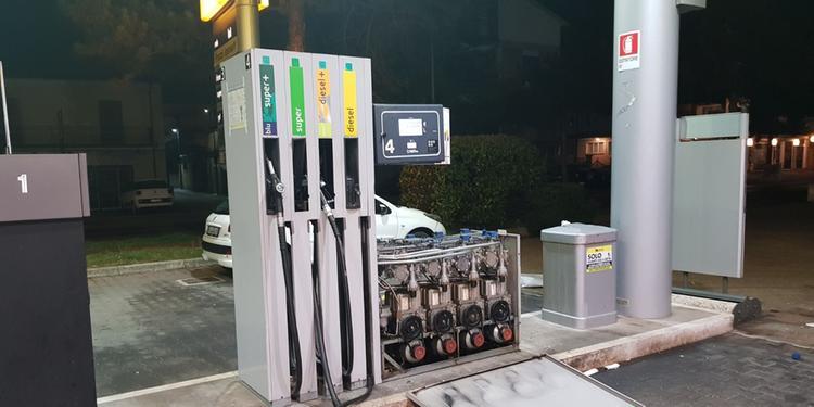 Furto ad Avezzano: impianto di benzina assaltato con l'esplosivo